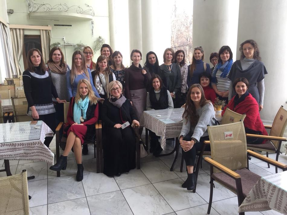 "On November, 9-10 training ""Women-leaders of changes: support of regional business initiatives"" in Ivano-Frankivsk region was held"