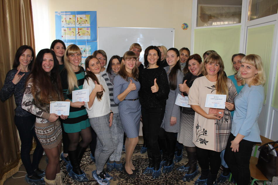 "On November, 2-3 training ""Women-leaders of changes: support of regional business initiatives"" in Dnipropetrovsk region was held"